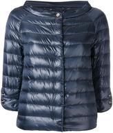 Herno collarless down jacket - women - Polyamide/Goose Down - 40