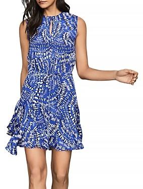 Reiss Elsie Printed Dress