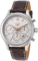 Longines Men's Heritage 41mm Brown Leather Band Automatic Watch L2.750.4.76.2
