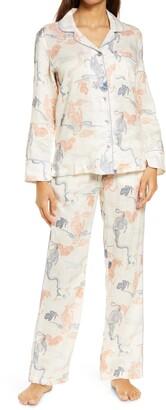 The Lazy Poet Emma Peking Tiger Linen Pajamas