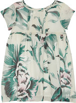 Burberry Zeena floral silk dress 6-36 months