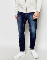 Jack and Jones Dark Wash Skinny Jeans