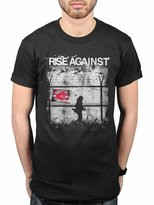 AWDIP Official Rise Against Borders T-Shirt Melodic Shield Rock Band Music Tim McIlrath