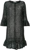 Charlott fringe knit cardigan
