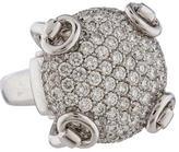Gucci Pavé Horsebit Ring