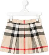 Burberry checkered skirt - kids - Cotton - 4 yrs