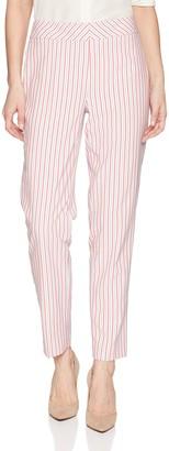 Nine West Women's Skinny Seersucker Pant