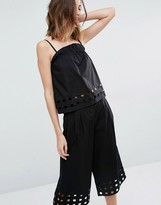 Warehouse Cutwork Cami Top