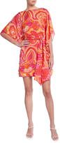 Trina Turk Paradise Floral Jacquard Shift Dress