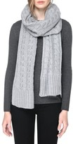 Soia & Kyo Women's Cable Knit Scarf