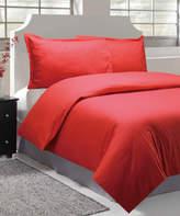 Natural Comfort Cayenne Sausalito Nights Microfiber Embossed Duvet Cover Set