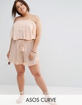 Asos Cheesecloth Flutter Sleeve Co-Ord Short