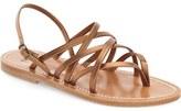 K Jacques St Tropez K.Jacques St. Tropez Strappy Flat Sandal (Women)