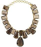 Bounkit Smoky Quartz Collar Necklace
