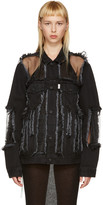 Off-White Black Denim Over Jacket