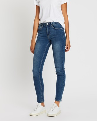 Reiko Arnel High-Waisted Skinny Jeans