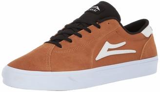 Lakai Footwear Flaco II Tobacco SUEDESize 8 Tennis Shoe