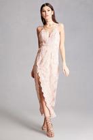 Forever 21 FOREVER 21+ Selfie Leslie Embroidered Dress