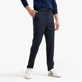 """La Redoute Collections Striped Joggers, Length 30"""""""