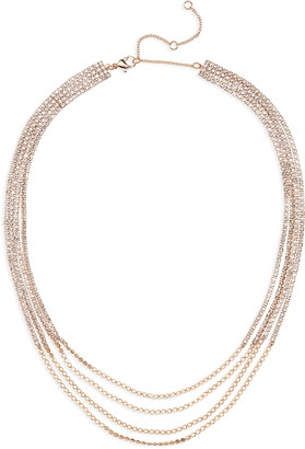 BP Crystal Layered Necklace
