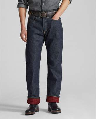 Ralph Lauren Straight Fit Lined Jean