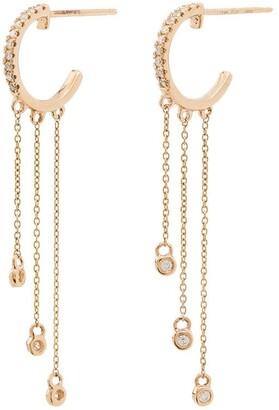 Dana Rebecca Designs 14kt yellow gold Lulu Jack diamond earrings