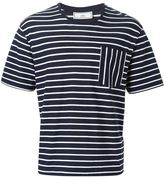 Ami Alexandre Mattiussi striped T-shirt