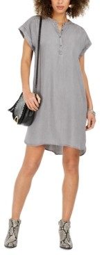 Style&Co. Style & Co High-Low Chambray Shirt Dress, Created for Macy's