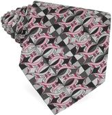 Emilio Pucci Printed Twill Silk Tie