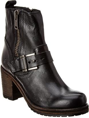 Frye Karen Moto Zip Leather Boot