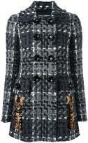Dolce & Gabbana bouclé short coat