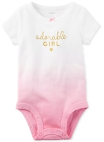 Carter's Adorable Girl Cotton Bodysuit, Baby Girls (0-24 months)
