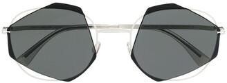 Mykita X Damir Doma Achilles geometric sunglasses