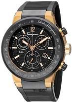 Salvatore Ferragamo Men's F55LCQ75909 S113 F-80 Rose Gold-Plated Watch