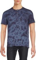 Calvin Klein Jeans Beach Tie-Dye Henley Tee