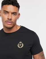 SikSilk x Dani Alves muscle fit t-shirt with small logo