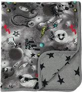 Molo Niles Reversible Space Blanket, Gray