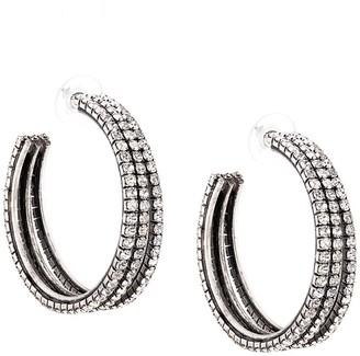 Dannijo Lani hoop earrings