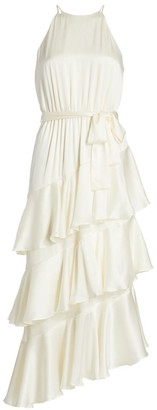 Zimmermann Picnic Tiered Silk Dress