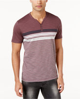 INC International Concepts Men's Pattern Blocked Henley, Only at Macy's