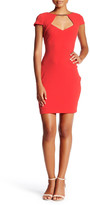 Jessica Simpson Cap Sleeve Sweetheart Dress