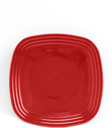 Fiesta Scarlet Square Luncheon Plate