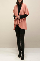 Look by M Basic Coral Shawl Vest