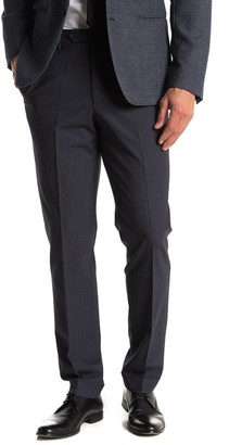 Reiss Airforce Blue Birdseye Suit Separates Dress Pants