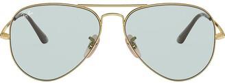 Ray-Ban Aviator Metal II tinted sunglasses