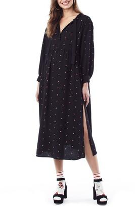Loyal Hana Ali Midi Maternity/Nursing Shirtdress