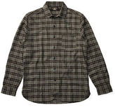 Ralph Lauren RRL Plaid Cotton Club-Collar Shirt