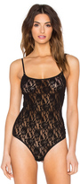 Hanky Panky Signature Lace Thong-Back Bodysuit