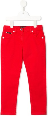Dolce & Gabbana Kids Five-Pocket Jeans