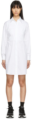 MM6 MAISON MARGIELA White Poplin Shirt Dress